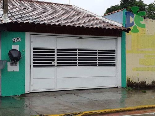 Casa Com 3 Dormitórios À Venda, 75 M² Por R$ 290.000,00 - Cidade Salvador - Jacareí/sp - Ca0201