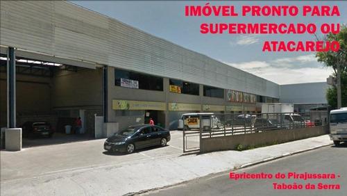 Imagem 1 de 6 de Galpão Para Supermercado; Ga0096 - Ga0096