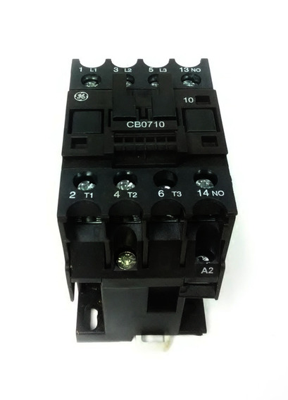Contactor Ge Pc101731 3p 110v 1na 18amp Cnr-6844