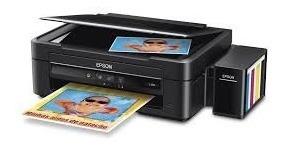 Impresora Para Sublimar, L380 Con Tintas Sublimación 120ml