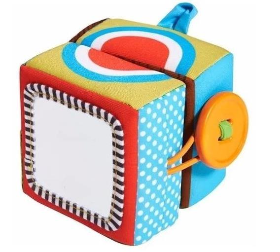 Cubo Mágico De Atividades Tiny Love D0223 Macio Colorido