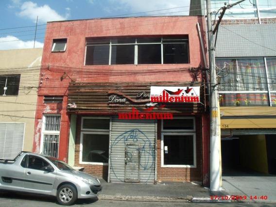 Salão Para Alugar, 154 M² Por R$ 5.000,00/mês - Penha De França - São Paulo/sp - Sl0003