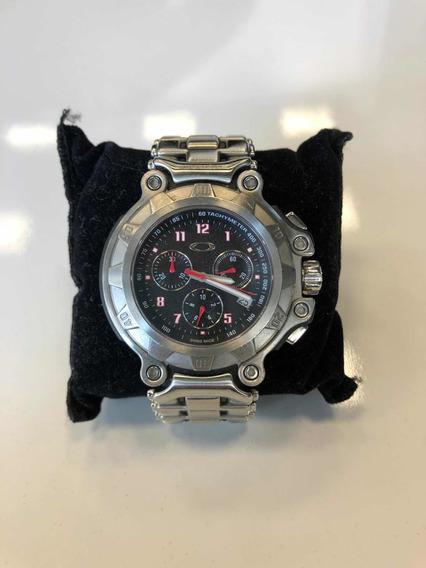 Relógio Oakley 10bar Titânio (100% Original) Raridade