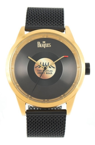 Relógio De Pulso Mascul The Beatles Help Vinil Chilli Beans