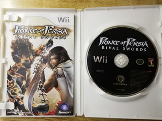 Wii Prince Of Persia Rival Swords