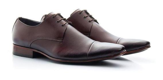 Sapato Social Atron Shoes 307 Café