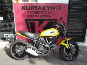 Ducati Scrambler Unico Dueño Seminueva Oportunidad