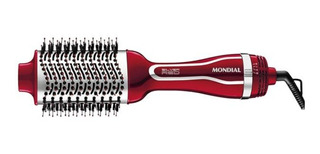 Escova Secador E Alisadora Silver Red Mondial Es-07 220v