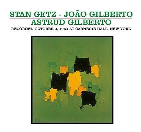 Lp Getz Gilberto Astrud Live At Carnegie Hall New York Novo