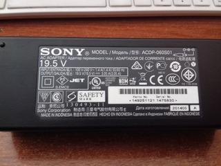 Cargador Adaptador Sony De Tv O Lapto