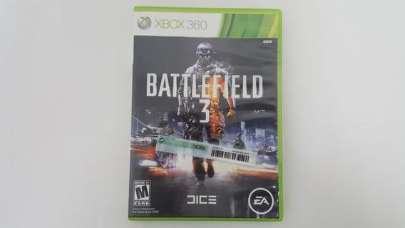 Battlefield 3 - Xbox 360 - Original - Mídia Física