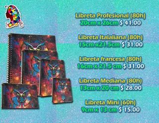 Mini Libreta Personlizada De 13x9 Cm 60hojas