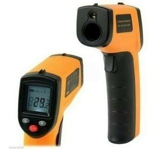 Termometro Pistola Laser Infrarojo Temperatura Display Lcd