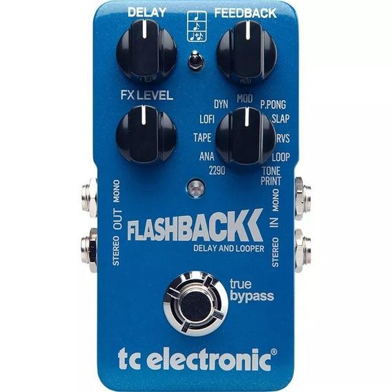 Pedal De Guitarra Tc Electronic Flashback Delay E Looper