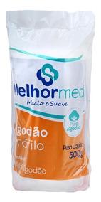 (kit C/ 8) - Algodão Hidrófilo Rolo 500 Gr Melhormed