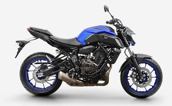 Mt 07 Abs 2020 Azul Yamaha