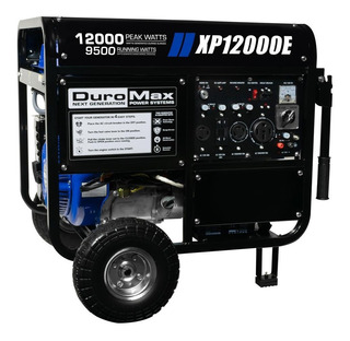Generador Portátil 12000 Watts Duromax + Kit Gas Natural