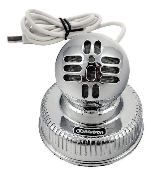 Microfone Condensador Usb Alctron U6 Meteorite Cardioide !
