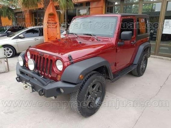 Jeep Wrangler 4x4 Año 2013