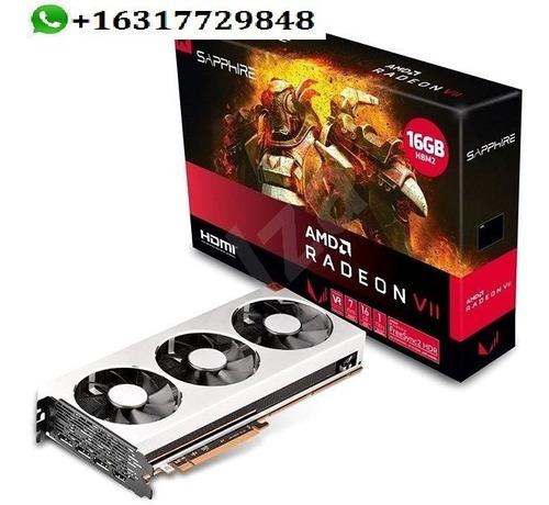 Sapphire Amd Radeon Vii 16gb Hbm2 Brand New 3 Free Games In