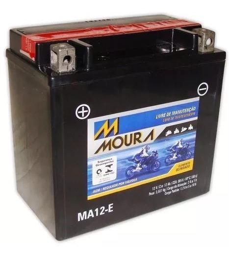 Bateria Moto Moura Ma12-e Bmw F 800 Gs F800 R F800st Ytx14bs