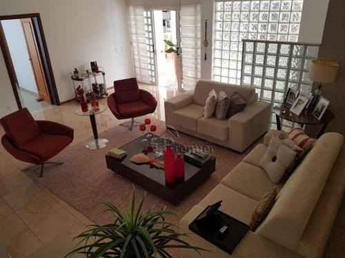 Sobrado Com 4 Dormitórios À Venda, 353 M² Por R$ 900.000,00 - Jardim Esplanada - Indaiatuba/sp - So0458