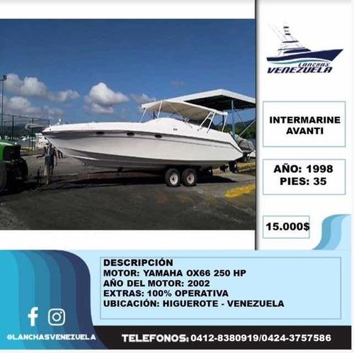 Lancha Intermarine Avanti Lv97