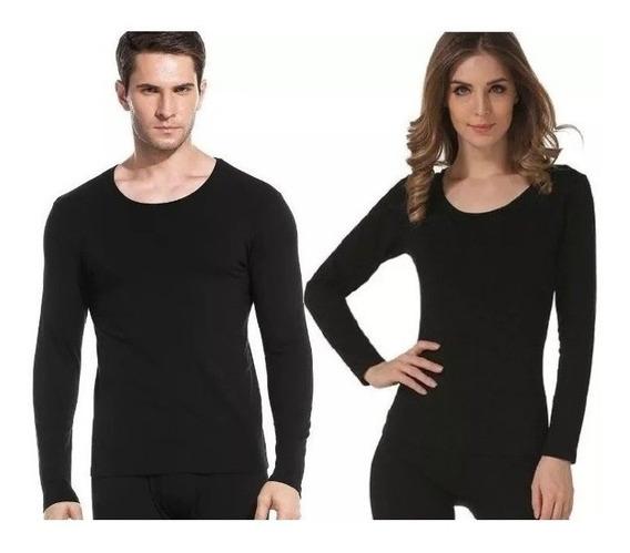 Blusa Camisa Térmica Flanelada Feminina E Maculina