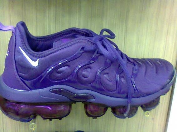 Tenis Nike Vapormax Plus Roxo Nº34 A 39 Original