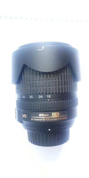 Lente Nikon 18-105mm Original Usada Em Perfeito Estado