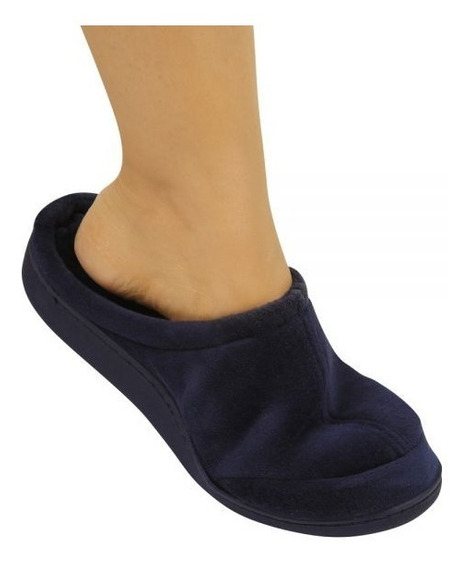Sapato Pantufa Para Idosos Ortopédica Viscopauher