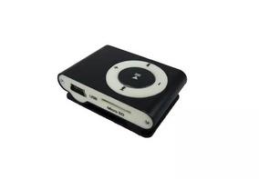 Mini Mp3 Player Completo Carregador Usb + Fone De Ouvido