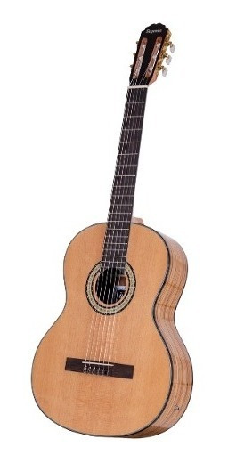 Guitarra Clásica Segovia Con Eq Medio Concierto Funda Cuota