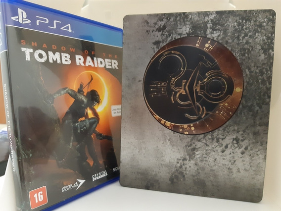 Shadow Of Tomb Raider Ps4 Steelbook Edição Especial