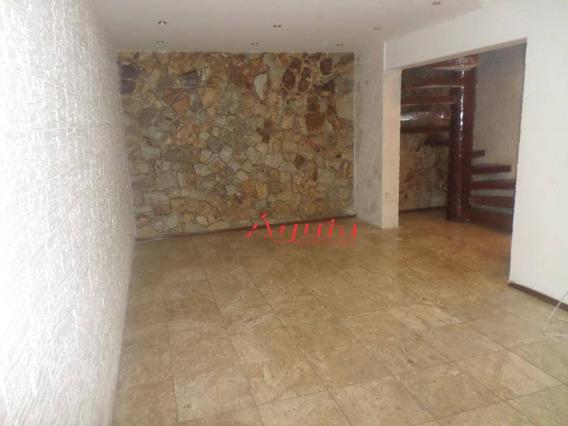 Sobrado Com 3 Dormitórios À Venda, 188 M² Por R$ 450.000,00 - Jardim Santo Alberto - Santo André/sp - So1098