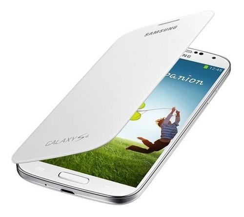 Carcasa Flip Cover Blanca Samsung Galaxy S4