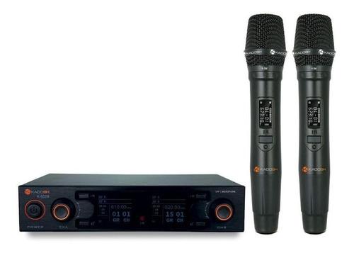 Imagem 1 de 2 de Microfones Sem Fios Kadosh K-502m Dinâmico  Cardióide