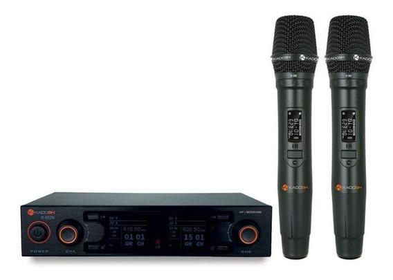 Microfones sem fios Kadosh K-502M cardióide