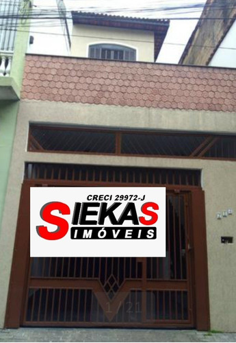 Imagem 1 de 14 de Sobrado C/ 03 Dormitórios, 01 Suíte E 03 Vagas De Garagem.