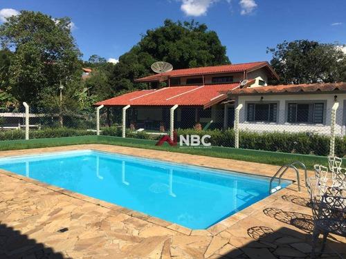 Imagem 1 de 10 de Chácara Com 3 Dormitórios À Venda, 3000 M² Por R$ 1.200.000 - Brotas - Santa Isabel/sp - Ch0092
