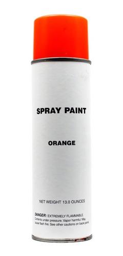 Pintura En Spray Color Naranja  Envase Grande 390 M L
