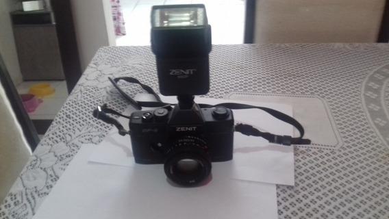 Câmera Analógica Zenit Df-2 (item Para Decoração)