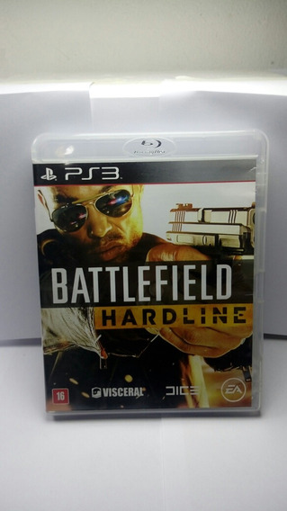 Jogo Ps3 Battlefield Hardline Tiro Sony Playstation 3 Barato
