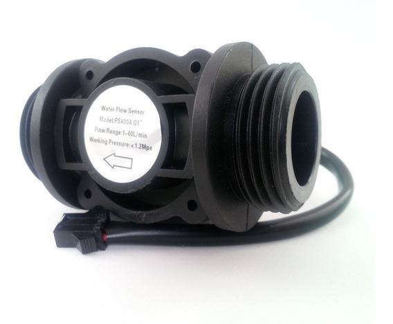 Sensor Medidor Fluxo De 1 Pol A 60l/m