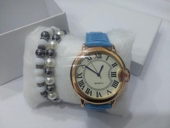 Relógio Feminino Pulseira Colorida