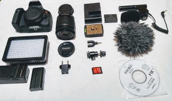Kit Youtuber Canon Eos Rebel T6i