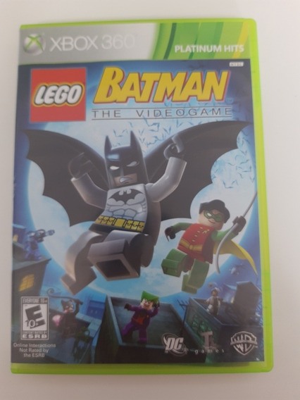 Lego Batman Xbox 360 Original Mídia Física
