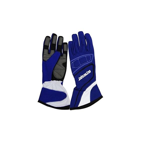Jxhracing G001ha Racing Gloves Blue Medium