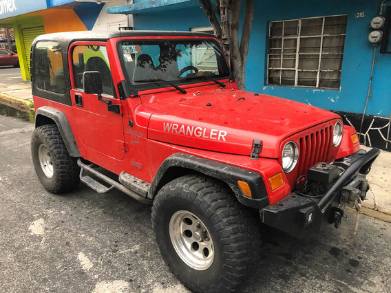 Jeep Wrangler 4.0 X Techo Duro 4x4 Mt 2001