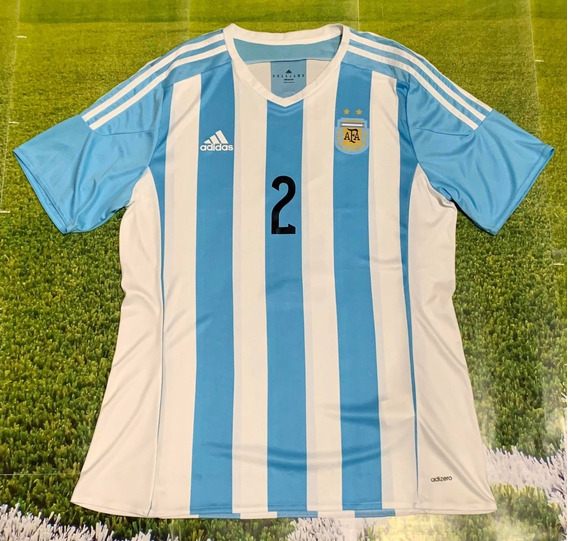 Camiseta Argentina Vs Ecuador Amistoso 2015 #2 Garay Unica !
